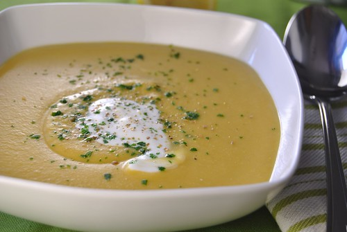 Red Lentil Cream of Soup