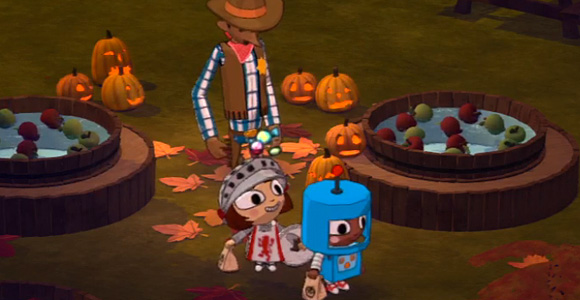Costume Quest (PS3, Xbox 360) screen