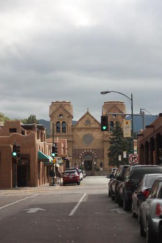 Santa Fe downtown