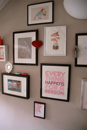 Happy art wall
