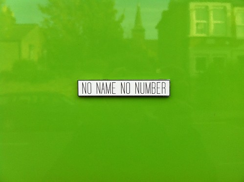 No Name No Number