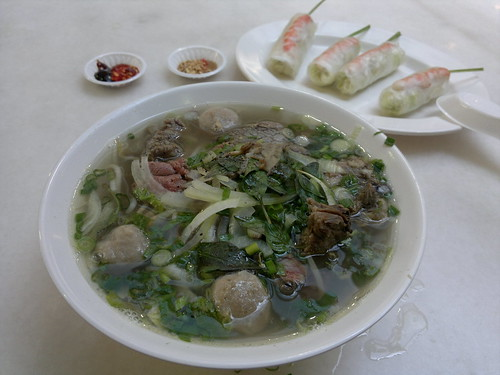 Phở and gỏi cuốn
