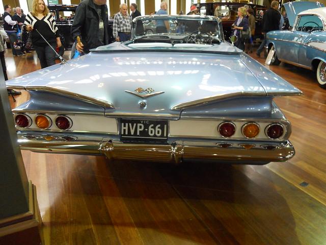 melbournemotorclassica2010 1960chevroletimpalaconvertible 1960americasbiggestsellingcar