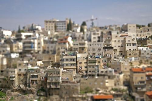 Jerusalem tilt-shift