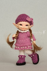 Pif (Maram Banu) Tags: doll handmade clothes tiny micro bjd knitted crocheted soso fairyland outfits fairystyle realpuki marambanu