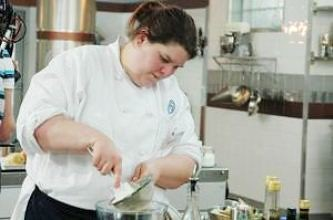 Claire Lara of Liverpool Community College who is in the finals of Masterchef the Professionals