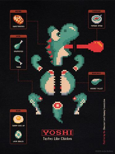 Yoshi: Tastes Like Chicken