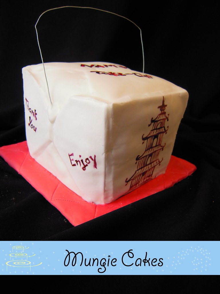 Mungie Cakes - Chinese Takeout Box1