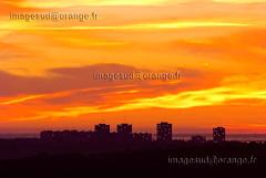 34-Montpellier-84-C- (Christian Sals) Tags: soleil montpellier ville couchdesoleil levdesoleil