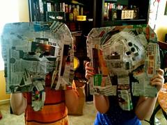Pharaoh mummy masks