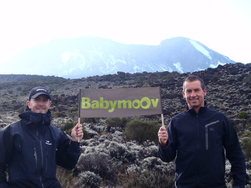 Babymoov, near the top of world!