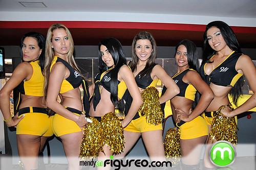 Bailarinas de las Aguilas Cibaeñas 2010 13