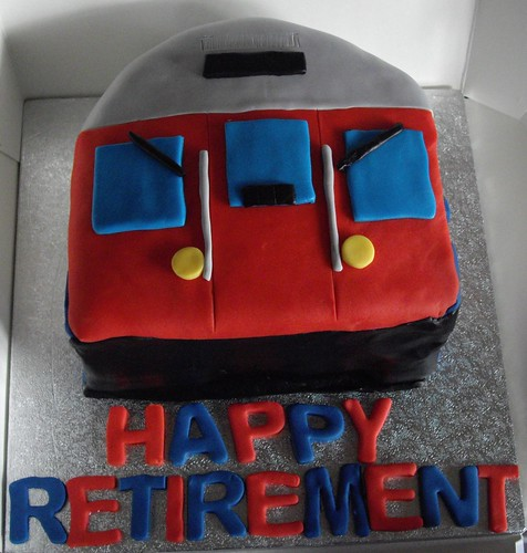Tube train cake by She Loves Cake