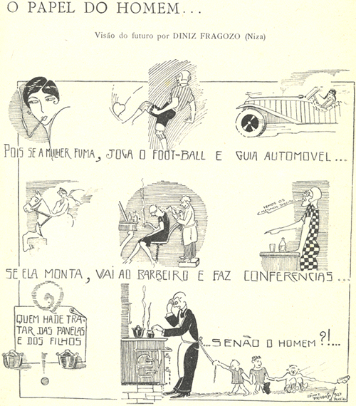 Diniz Fragoso, Bertrand Magazine, The Role of Men, 1927
