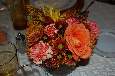 Thanksgiving Centerpiece 2009