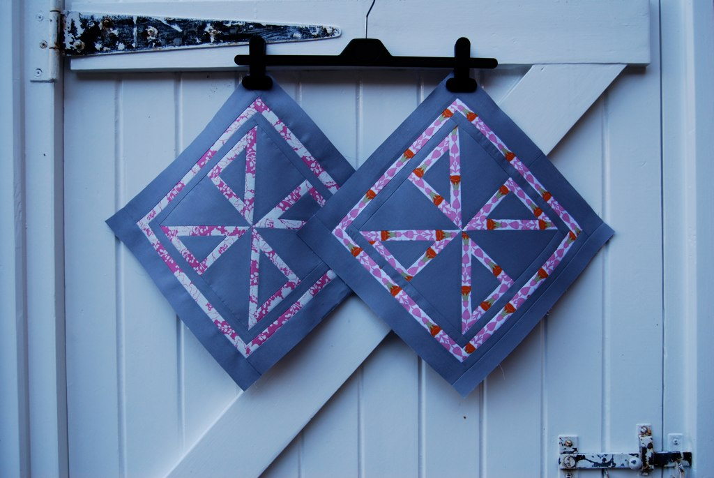 Both November blocks for Amanda