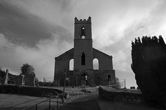 Church on the Hill (monkeyiron) Tags: church perthshire ruin churchyard bankfoot