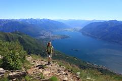 Switzerland - Monte Gridone (uwelino) Tags: alps schweiz switzerland tessin ascona ticino europa europe locarno alpen lagomaggiore brissago spectacularlandscape montelimidario montegridone