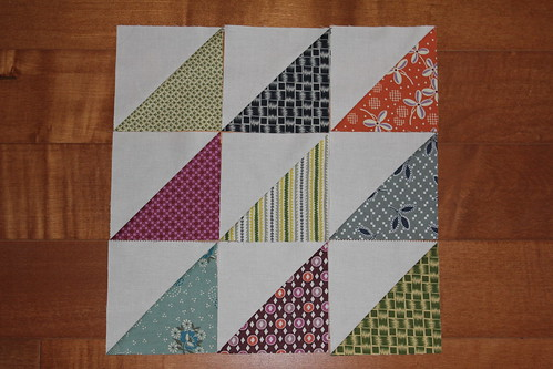 Half square triangle arrangement 1