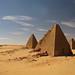 Kushite pyramids - Jebel Barkal