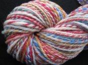 "4 oz 2 ply Hand Spun Aran Yarn 100% Merino Wool Eva Baby Designs ""Jacob"""