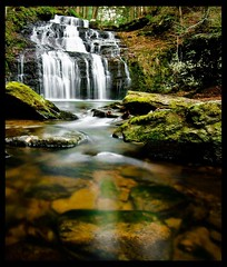 Buttermilk Falls (Jay Cassario) Tags: digital landscape nikon long pennsylvania exposer falls tokina pa waterfalls dslr polarizer 1224mm longexposer d90 tokina1224mm nikond90