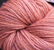 "4.4 oz BFL Wool DK Yarn  ""Reddish-Brown"""