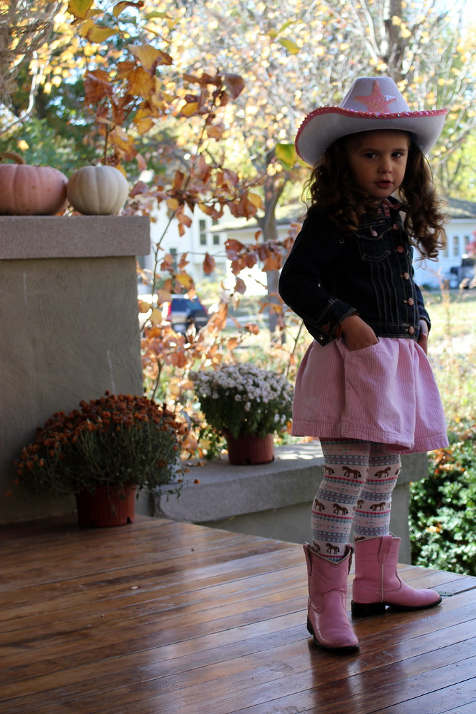 our lil' cowgirl
