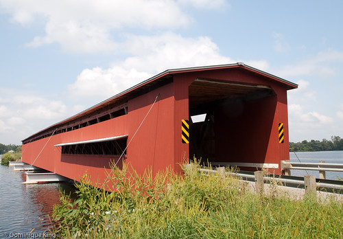 Langley Covered Bridge-Michigan-4