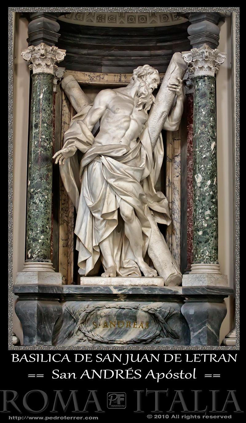 Roma - Basílica de San Juan de Letrán - San Andrés Apóstol