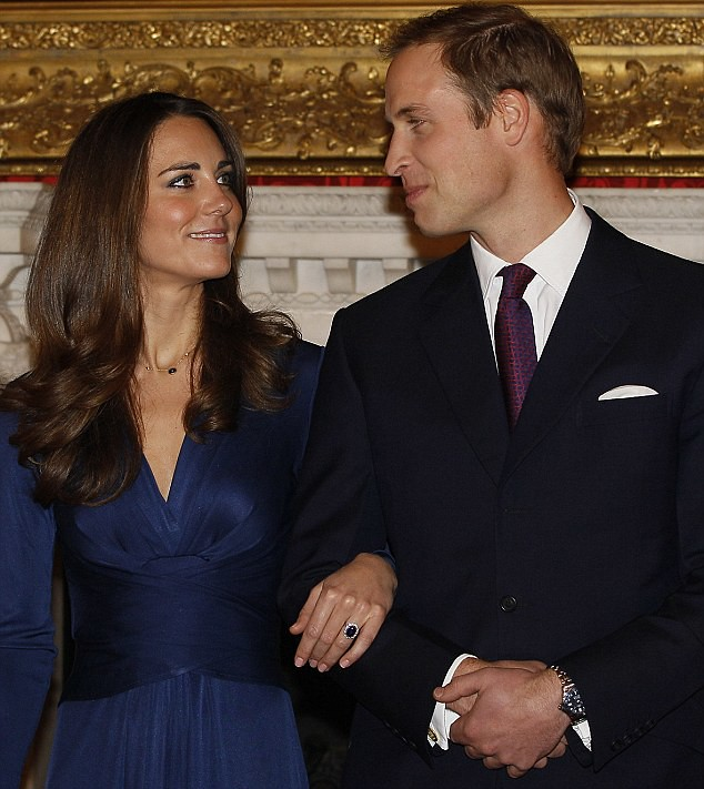 engagement ring Prince William and Kate Middleton
