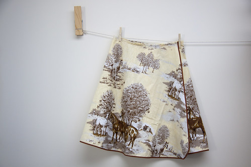 The pony skirt...