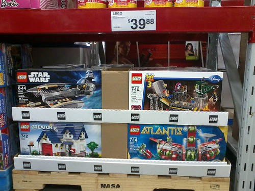 LEGO assortment spotted at Sam's Club