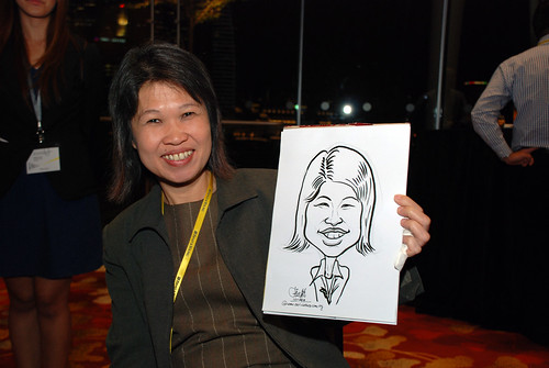 caricature live sketching for 2010 Asia Pacific Tax Symposium and Transfer Pricing Forum (Ernst & Young) - 2