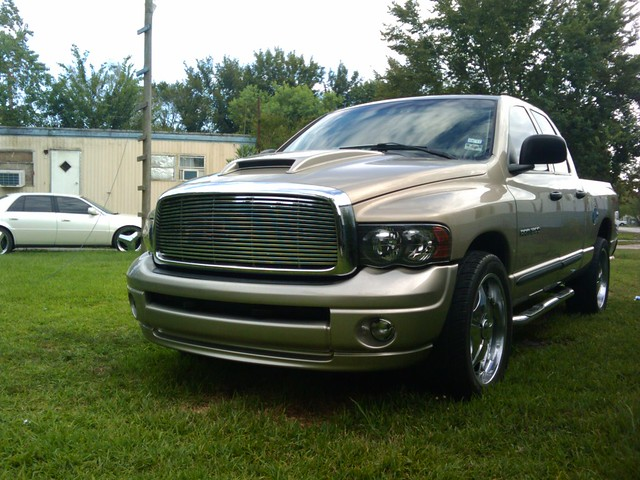 2003 truck paint 4x4 headlights grill bumper dodge hood hemi custom ram 1500 scoop bigmouthgrill