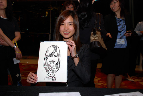 caricature live sketching for 2010 Asia Pacific Tax Symposium and Transfer Pricing Forum (Ernst & Young) - 16
