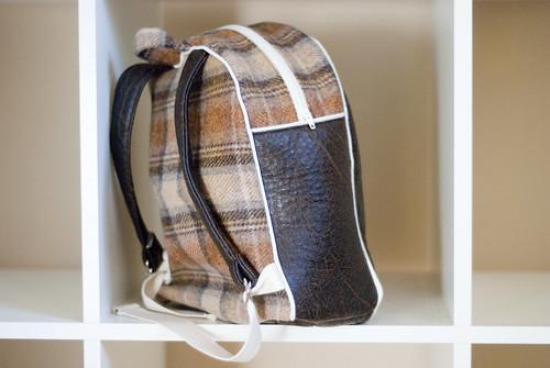 toddler backpack - back