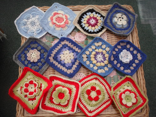 Jean Nock (UK) Squares arrived today! Thank You!