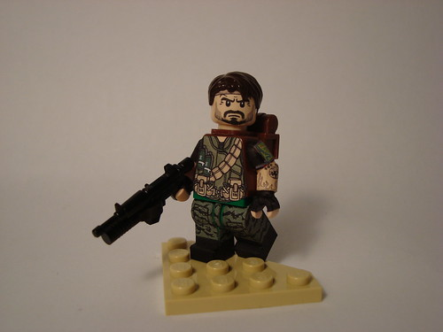 Lego Call Of Duty Black Ops Frank Woods