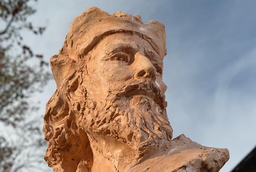 Jehan Ango, sculpture de Jean-Marc de Pas