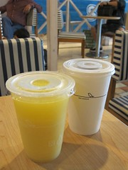 Orange Juice and Iced Tea