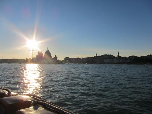 日落的威尼斯