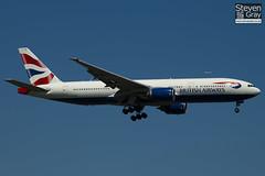 G-YMMD - 30305 - British Airways - Boeing 777-236ER - Heathrow - 100617 - Steven Gray - IMG_4424