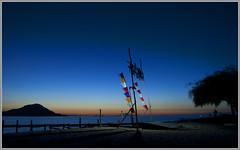 La puerta del atardecer (CARBA Photo) Tags: ocean flowers sunset sea sky seascape flores nature sunrise indonesia island atardecer mar paradise amanecer isla paraiso oceano kanawa