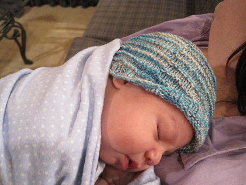 Hat by Sarah in FGF yarn!