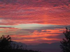 Sunrise over the Taigetos 5 (Gregelope) Tags: sky colour beach nature beautiful sunrise greece views coastline ellada serenitynow messinia pelopponese