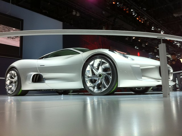 Jaguar Concept side
