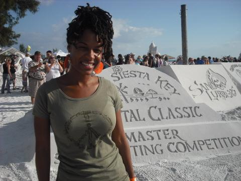 Adrienne in Siesta Key