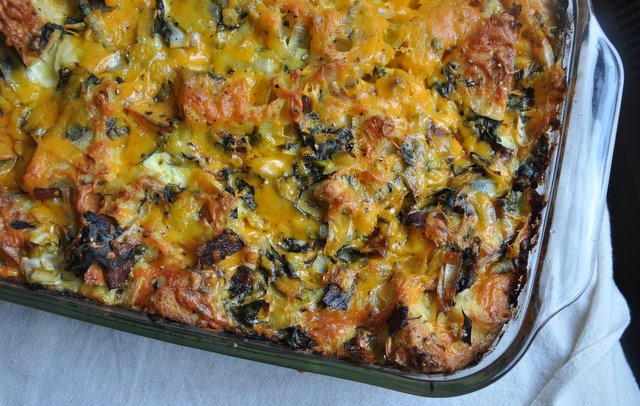 5197303926 520ea9b8d2 z Savory Bread Pudding, Thanksgiving Inspiration