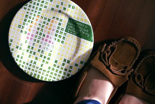 A little plate...